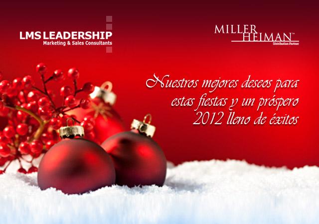 Miller Heiman Feliz Navidad